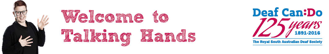 Welcome to Talking Hands